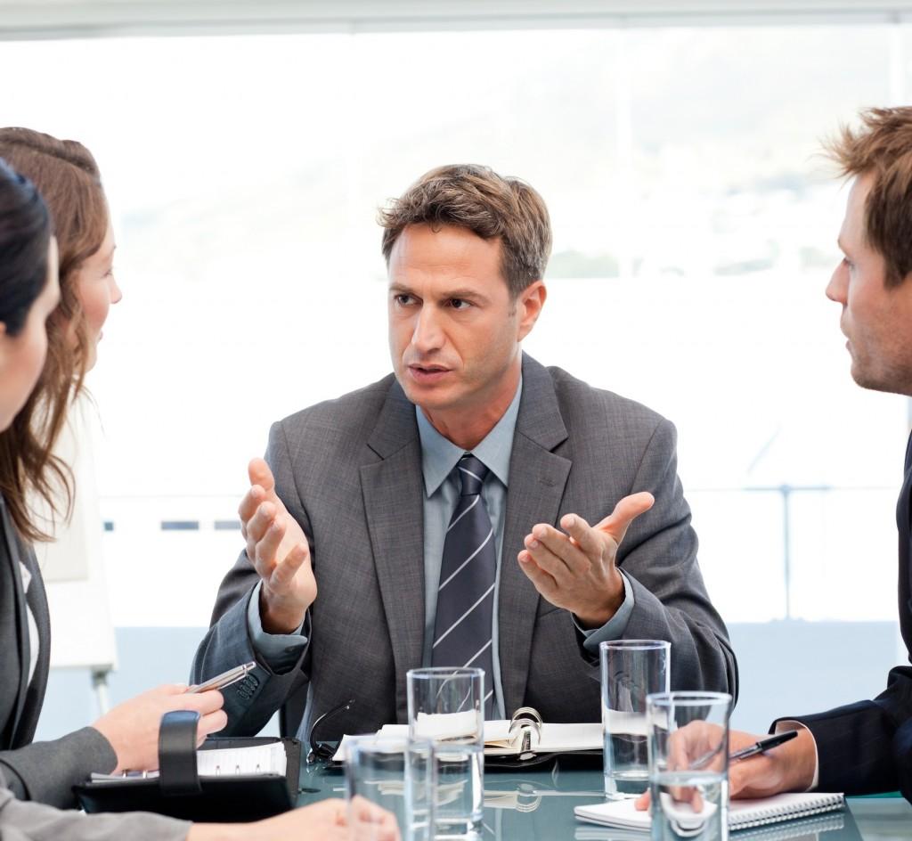 rozmowa biznesowa